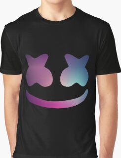 Marshmello Blue Violet Graphic T-Shirt