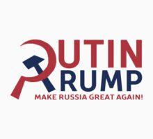 Putin Trump Make Russia Great Again Baby Tee