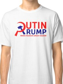 Putin Trump Make Russia Great Again Classic T-Shirt