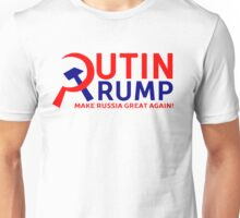 Putin Trump Make Russia Great Again Unisex T-Shirt