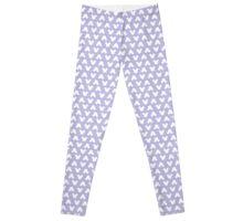 Mickey Polka Dots in Cinderella Lilac Leggings