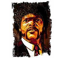 Jules Winnfield - Pulp Ficton Photographic Print