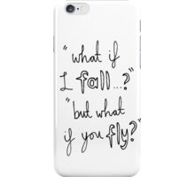 Fall and Fly iPhone Case/Skin