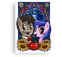 Ponies are Cool Canvas Print