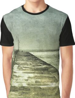 Arriving and Departing, all at the Same Time Graphic T-Shirt