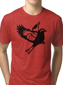 Black Sparrow Tri-blend T-Shirt