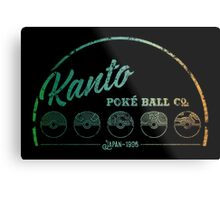 Kanto Poké Ball Company Metal Print