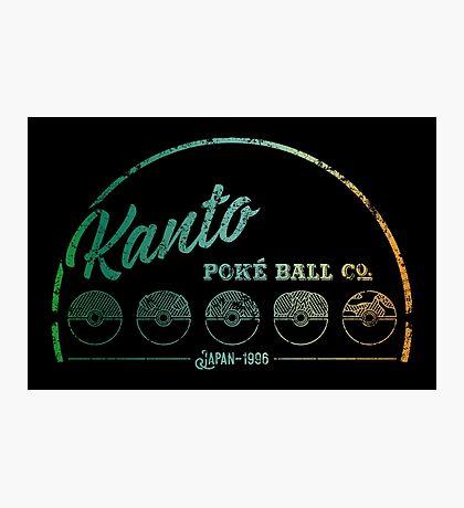 Green Kanto Poké Ball Company Photographic Print