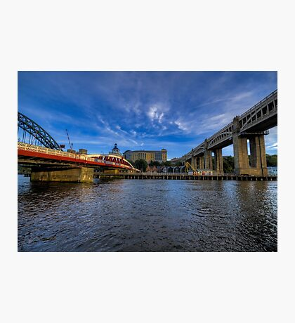 Between the Bridges Photographic Print
