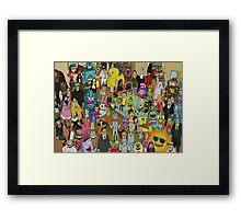 Rick and Morty - Where's Rick  Framed Print