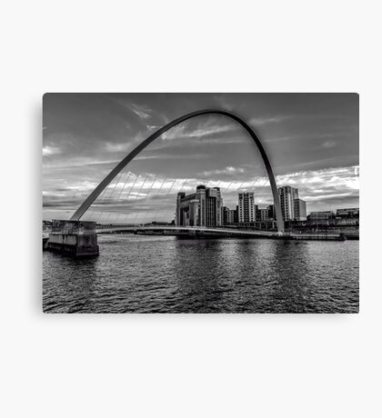 Gateshead Millenium Bridge Canvas Print