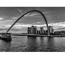 Gateshead Millenium Bridge Photographic Print