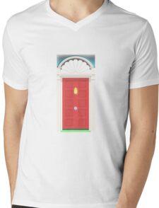 Door case Mens V-Neck T-Shirt