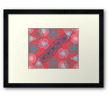 Geometricool Framed Print