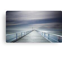 A long walk down the pier! Canvas Print