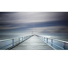 A long walk down the pier! Photographic Print