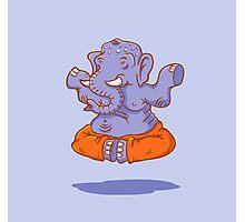 Elephant yoga Photographic Print