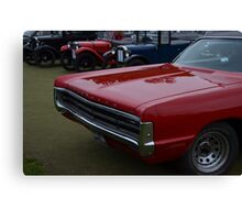 Classic Plymouth Grille Canvas Print