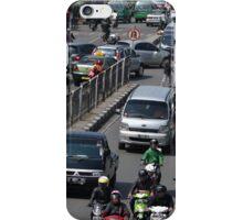 busy traffic in bandung iPhone Case/Skin
