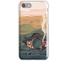 A Hobbit House iPhone Case/Skin