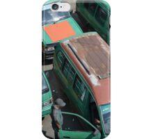 angkot-public transportation in bandung iPhone Case/Skin