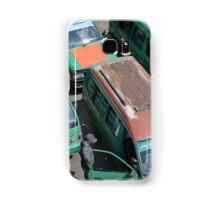 angkot-public transportation in bandung Samsung Galaxy Case/Skin