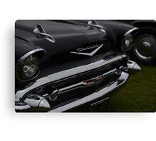 Classic Chevy Grille Canvas Print