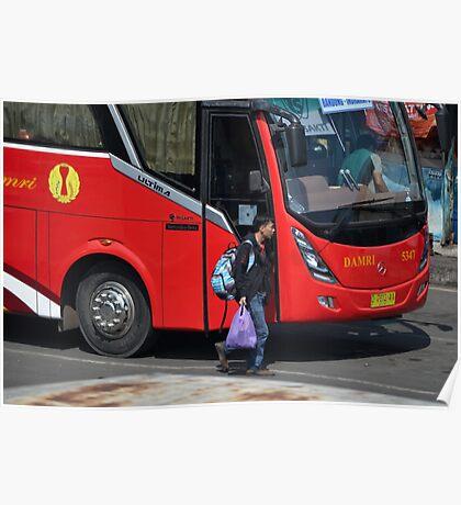 parking bus Poster
