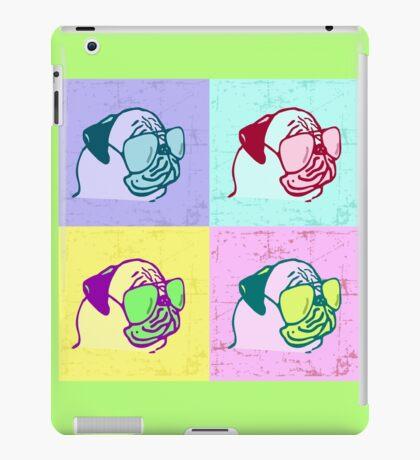 pop art sassy pugs iPad Case/Skin
