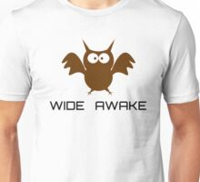 Cute Little Owl Night Life Wide Awake Katy Perry Audioslave Song Lyrics Unisex T-Shirt