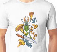 Autumn dreams of mushroom crime Unisex T-Shirt
