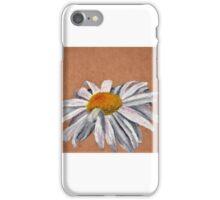 Oil Pastel White Daisy iPhone Case/Skin