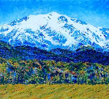 Mt Sopris Colorado by Kathie Nichols