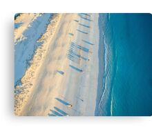 cable beach areall sunset  Canvas Print