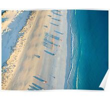 cable beach areall sunset  Poster
