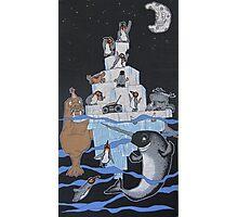 Penguin Party Photographic Print