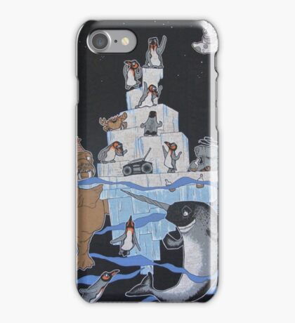 Penguin Party iPhone Case/Skin