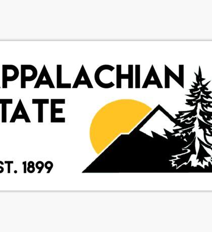 Appalachian State 2 Sticker