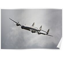 Lockheed Constellation Poster