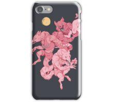 Werewolf sleepover iPhone Case/Skin