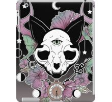 Twilight -- Skull Cat iPad Case/Skin