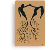 Two Halves of One Soul Canvas Print