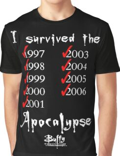 I Survived the Apocalypse Graphic T-Shirt