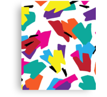 New Kicks On The Block Canvas Print