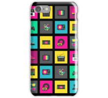 80's Icons iPhone Case/Skin