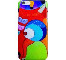 dragon et le moustique iPhone Case/Skin