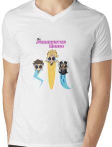 Powerwatch Girls Mens V-Neck T-Shirt