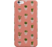 Cacti & Succulent  iPhone Case/Skin