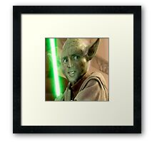 Yoda Cage Framed Print