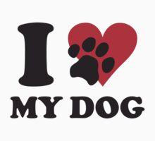 I love my dog by nektarinchen